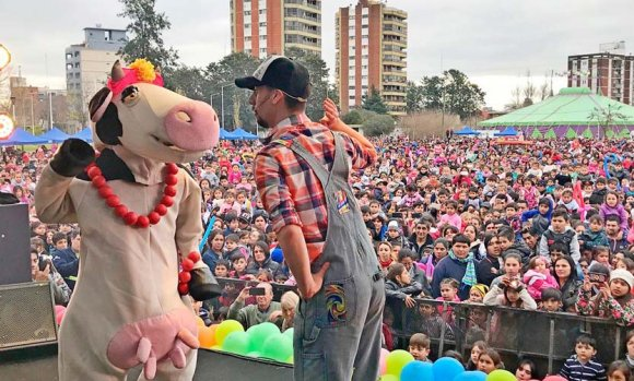 Miles de chicos festejaron el Día del Niño en Pilar