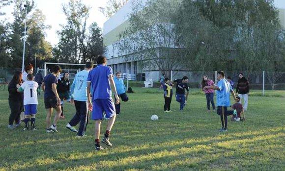 El Municipio encaró mejoras en el Polideportivo