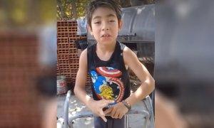 Video - Desesperado pedido de un niño para poder encontrar a su perro