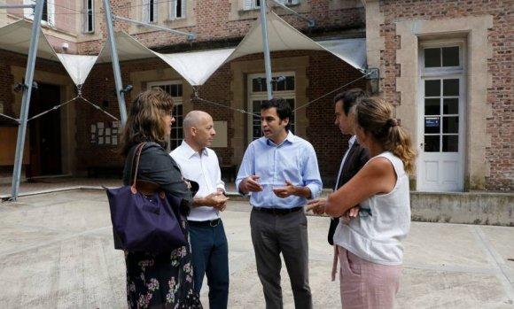 Con la firma de un convenio, avanza la idea del Polo Educativo Regional en el Pellegrini