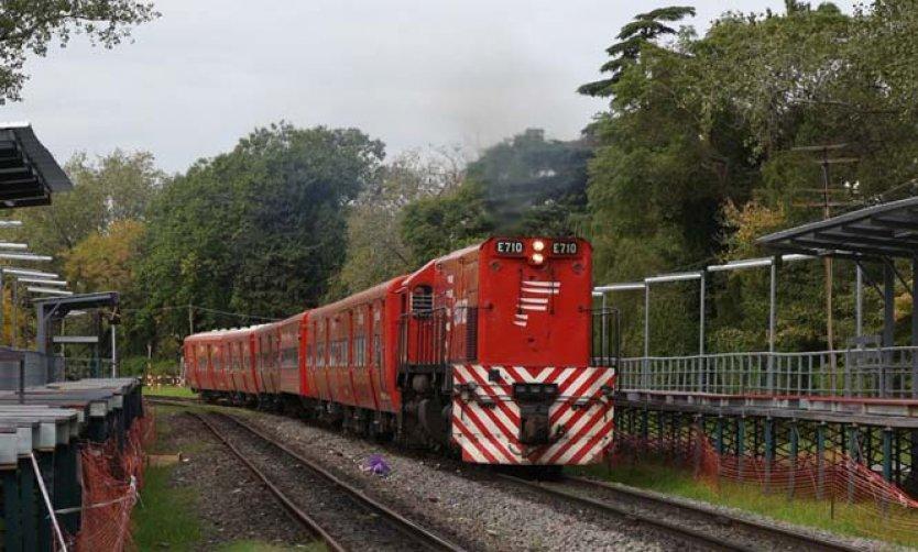 Por las obras de las estaciones, durante cuatro días no funcionará el tren Belgrano Norte