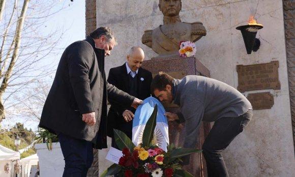 El Municipio conmemoró un nuevo aniversario del fallecimiento de San Martín