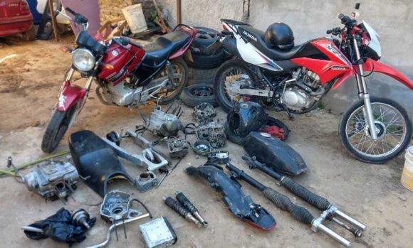 Intentaron vender motos robadas por Facebook y fueron detenidos