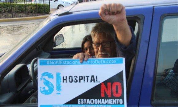 El Frente Pilarense ya reunió 8.000 firmas para que se proteja el predio del hospital