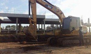 Ducoté suspendió la idea de habilitar un estacionamiento sobre la estructura del futuro hospital
