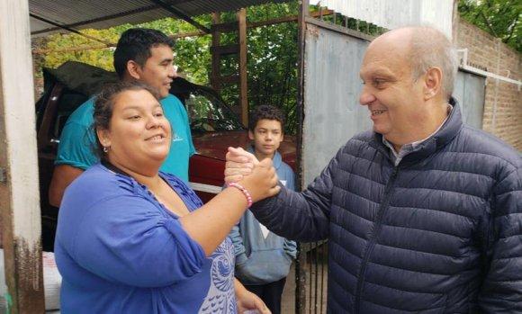 La foto de Lombardi en Pilar que encendió la polémica en las redes