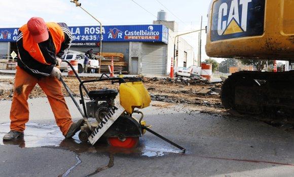 Durante 15 días cortarán el tránsito en calle Chacabuco y Ruta 25