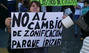 Código territorial: Vecinos se manifestaron frente a la Municipalidad