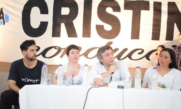 Máximo Kirchner encabezó un plenario de La Cámpora en Pilar