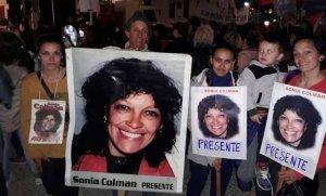 Homenaje a Sonia Colman a 11 años de su asesinato