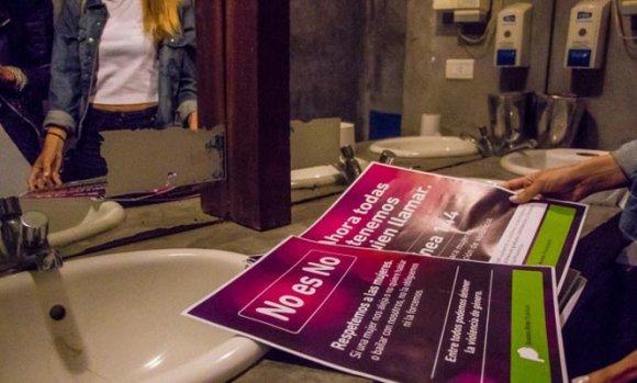 Buscan que bares y boliches de Pilar se sumen a una campaña contra la violencia de género