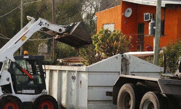 Restringen la cantidad de restos de poda que pueden sacar los vecinos a la calle