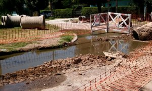 Invertirán 13 millones de pesos para terminar la red cloacal de un barrio